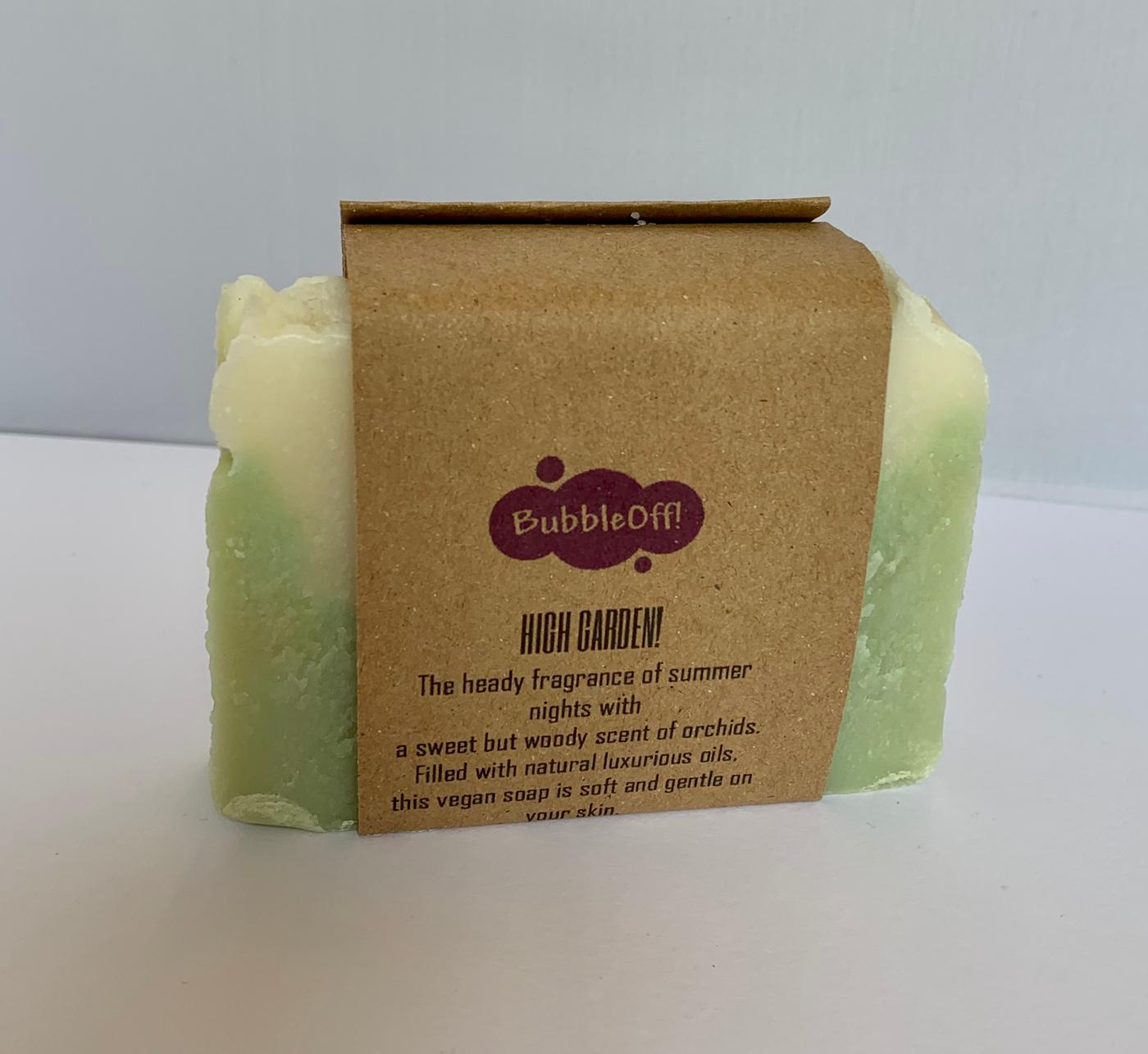 BubbleOff- Vegan Cold-Pressed Soap