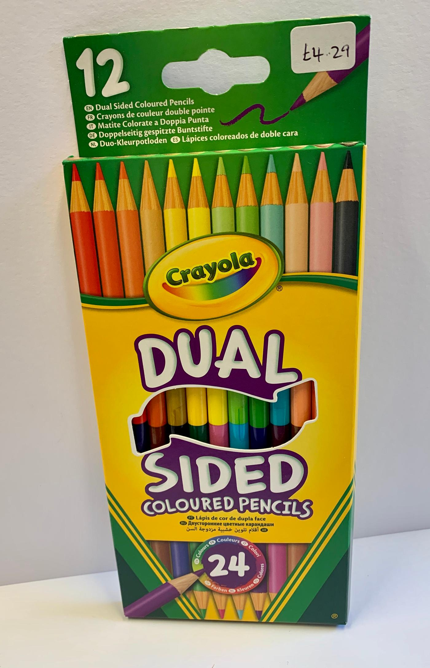 Crayola Dual Sided Coloured Pencils