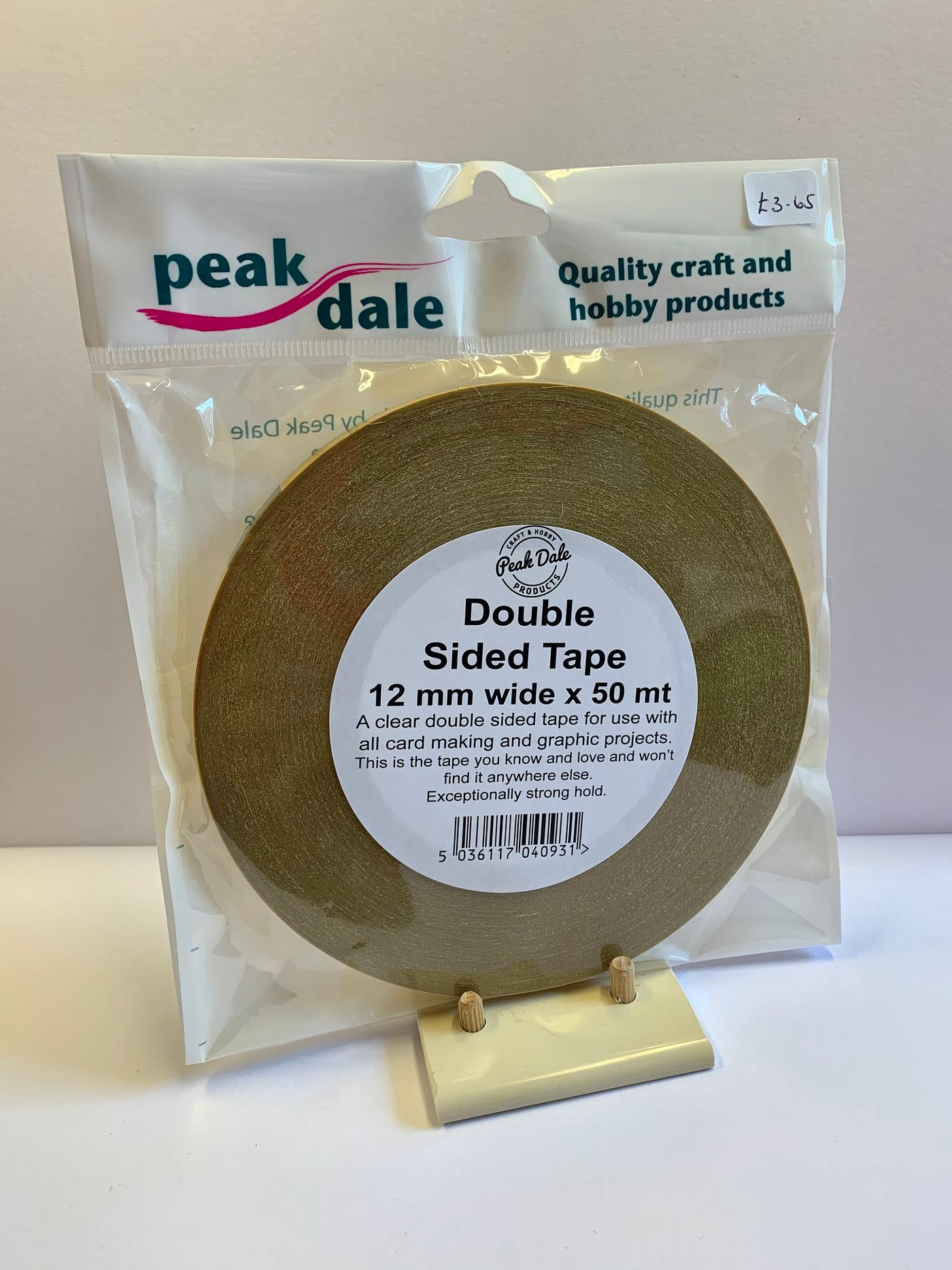 Double sided tape 50 mtr