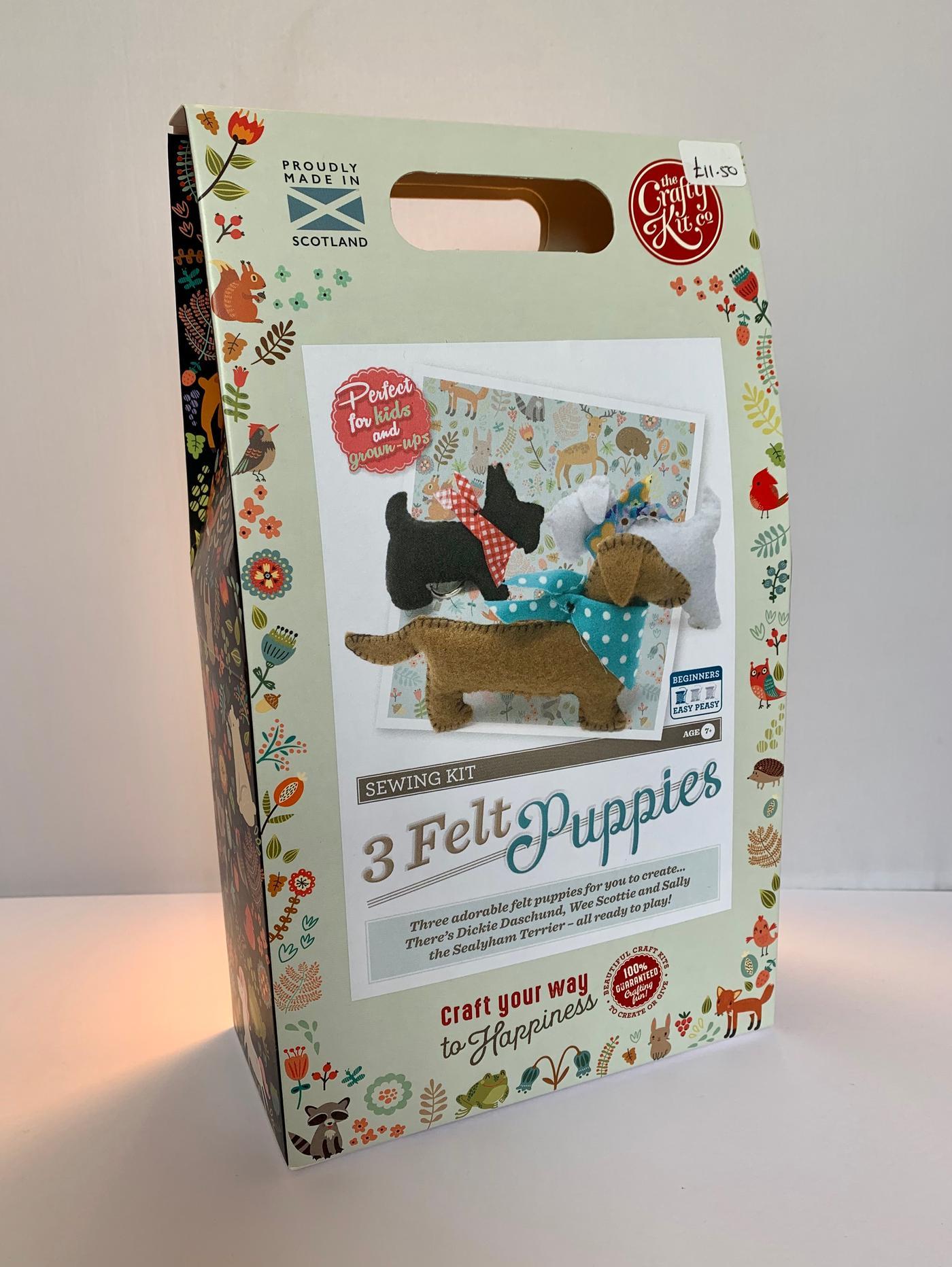 Felt Puppies Sewing Kit
