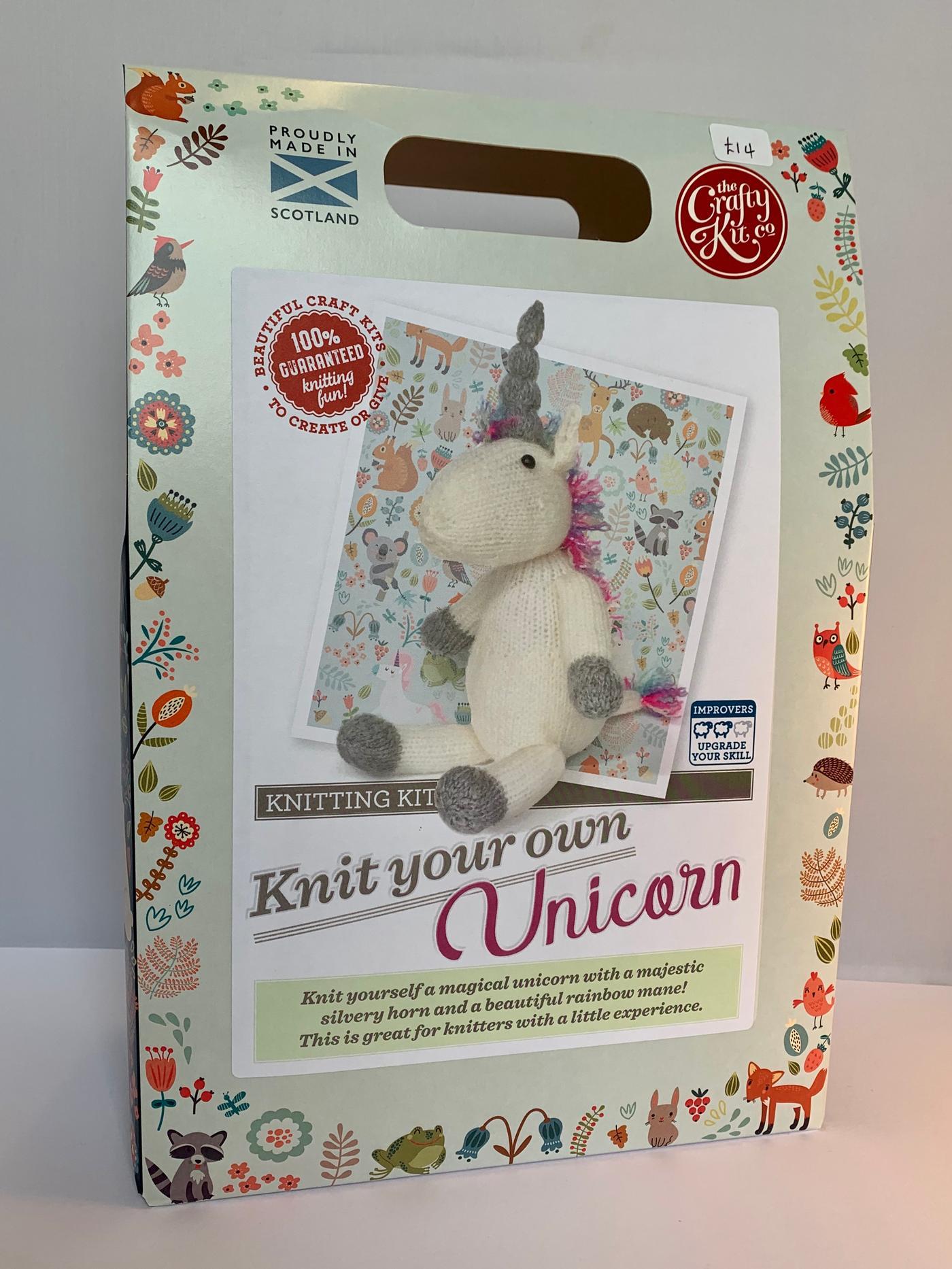 Unicorn Knitting Kit