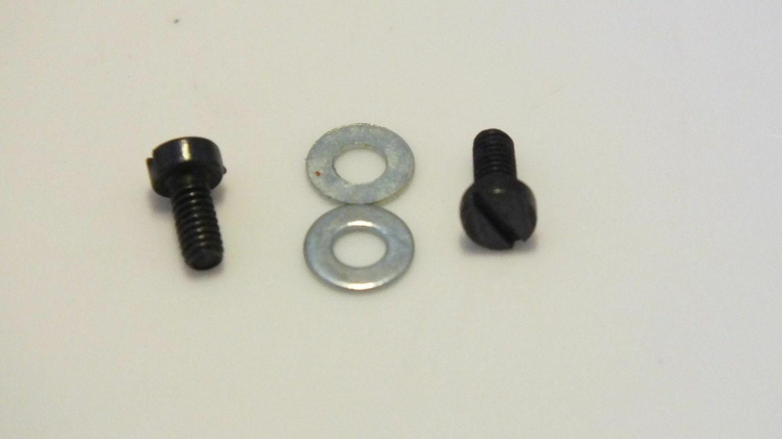 12832/11825  #  HORNBY DUBLO WRENN  REAR PONY 2 x SCREWS AND WASHERS     K12B