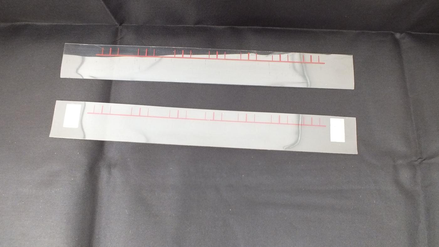 M4193/1 HORNBY DUBLO COMPOSITE COACH GLAZING    S8A