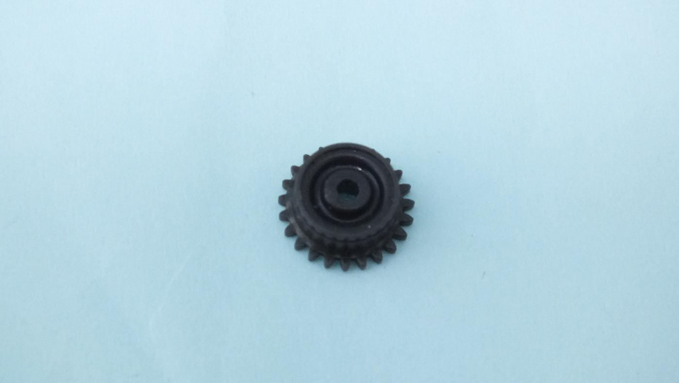 MS69 * HORNBY TRIANG BLACK GEAR HUB FITS DMU WHEEL X858 E2A