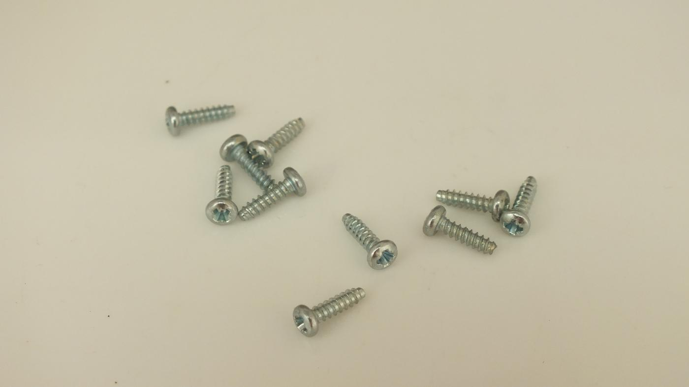 S1250 EARLY SCALEXTRIC SCREWS PKT 10      T3B