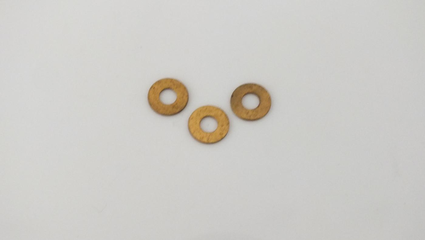 S3110  # HORNBY TRIANG WASHERS X 3  G7C