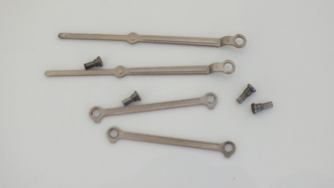 S3996/S3214 * HORNBY TRIANG VALVE GEAR & CONROD SET  0-4-0T          T8C