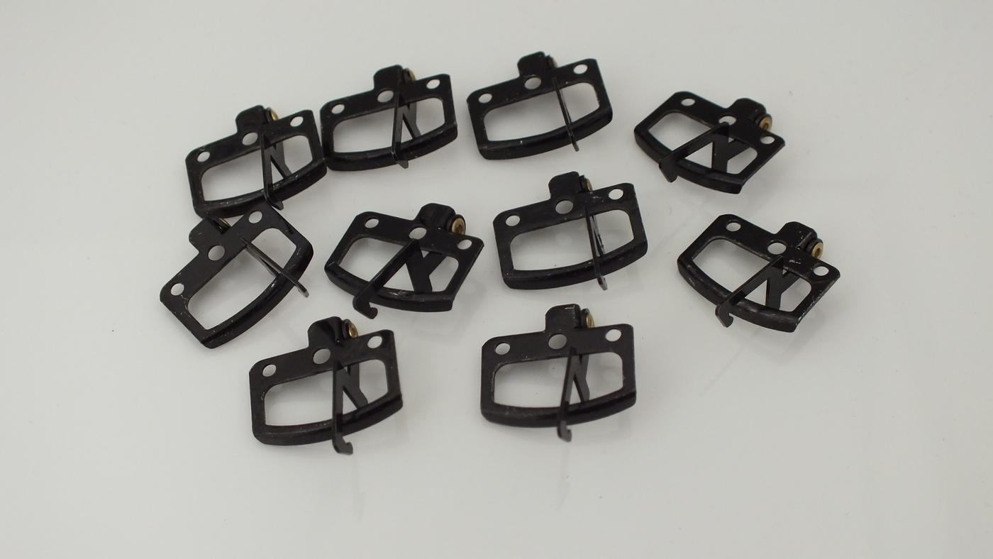 X171/X8025 # HORNBY TRIANG METAL COUPLINGS X 10     T21A