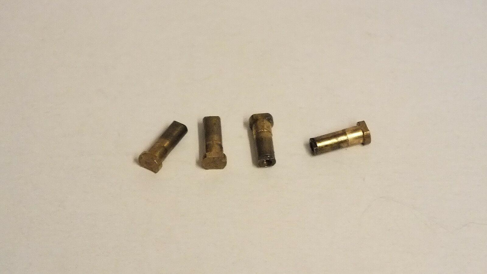 S2109S #  4 x  hornby triang spare parts long crank pins G12D
