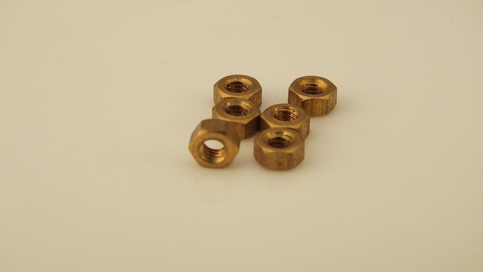 S5097 # HORNBY TRIANG 6 X  P X03/04 MOTOR NUTS  G12D