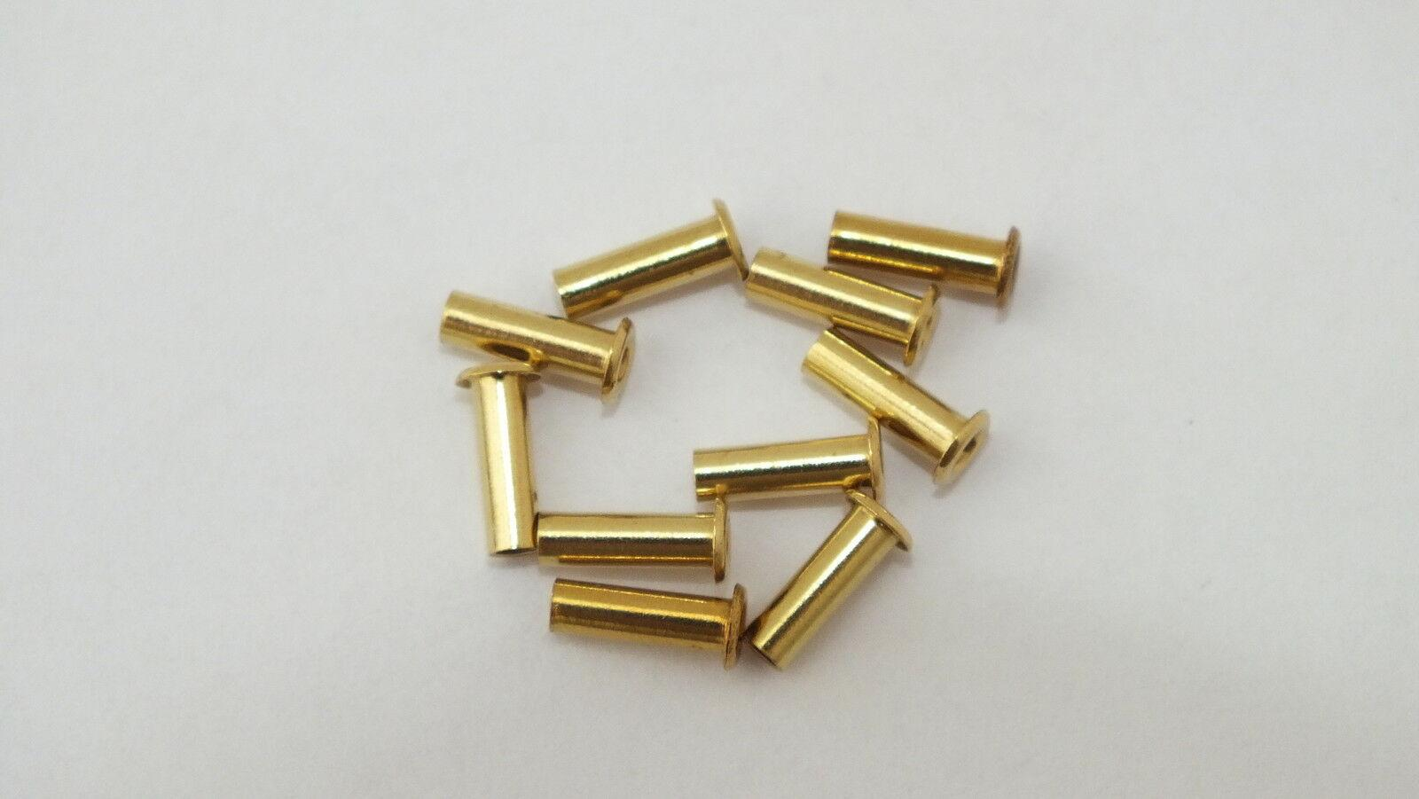 S5102/S5251 # 10 x hornby triang spare parts eyelet rivet H3C