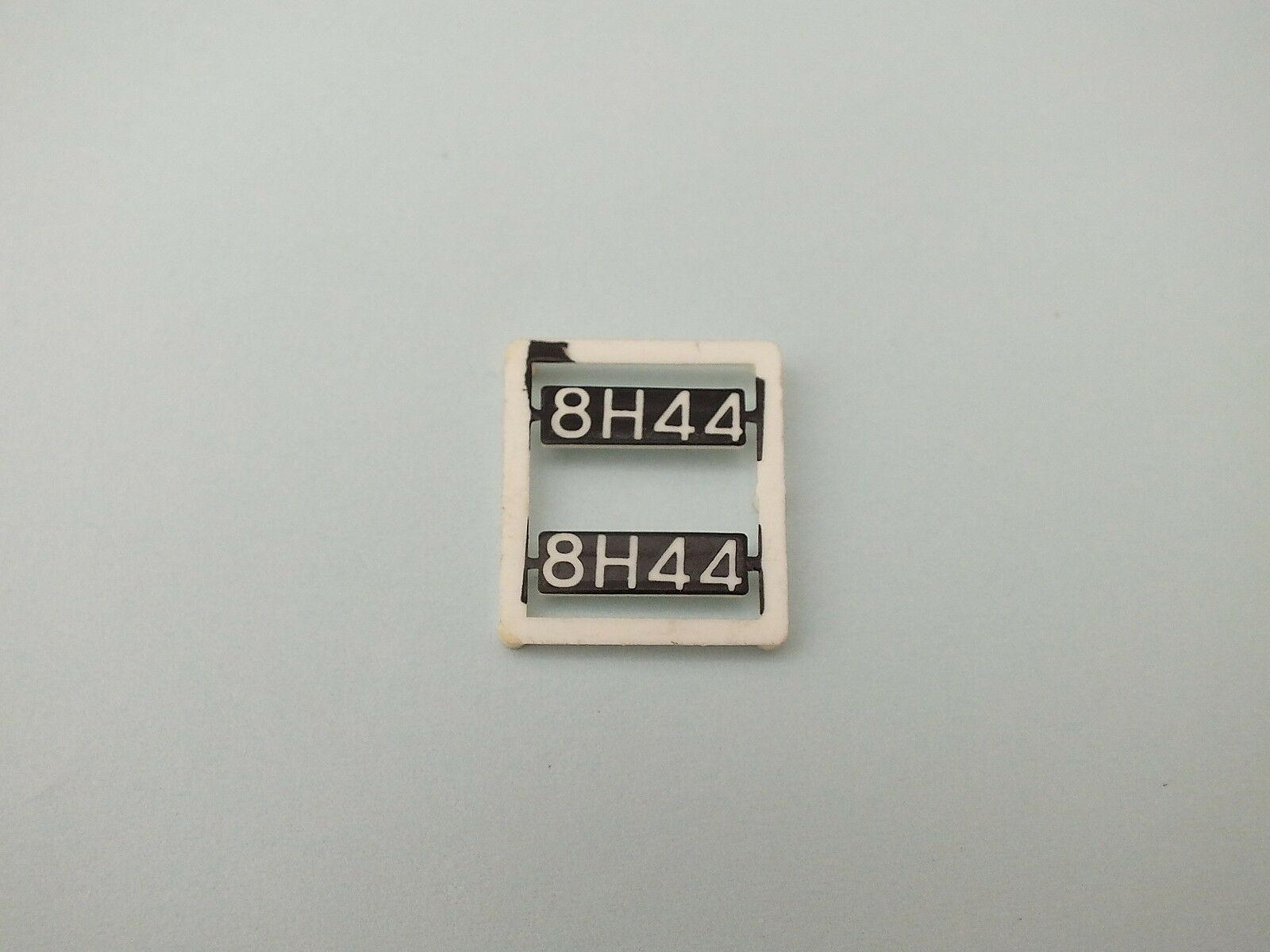 S9668/2 #  HORNBY  TRIANG DIESEL LOCO HEAD CODES CLASS 25  8H44  T14C