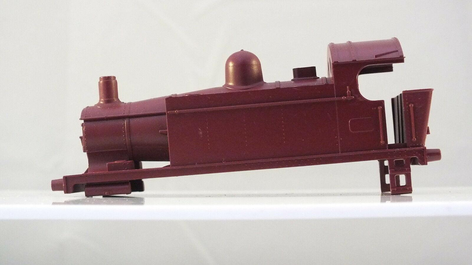 S9786/7 # HORNBY TRIANG 0-4-0 TANK BARE BODY MAROON NO FITTINGS   R16A