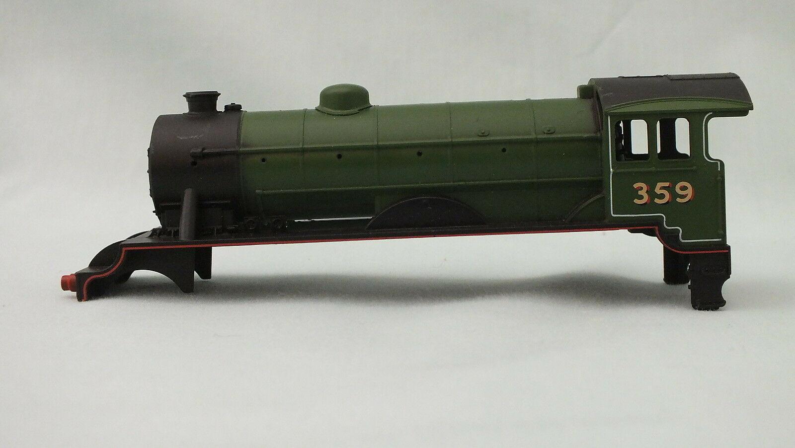 X2606/2 # HORNBY BARE BODY D49 HUNT FITZWILLIAM  LNER GREEN R/NO 359       R20A