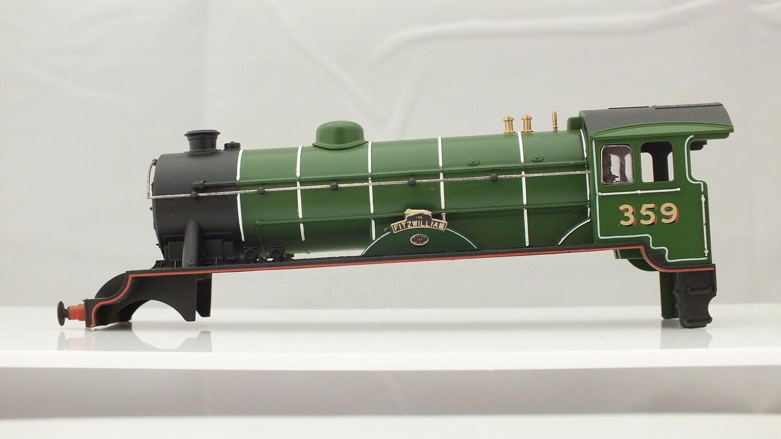 X2606/R859 # HORNBY  BODY D49 HUNT FITZWILLIAM  LNER GREEN R/NO 359    R15A