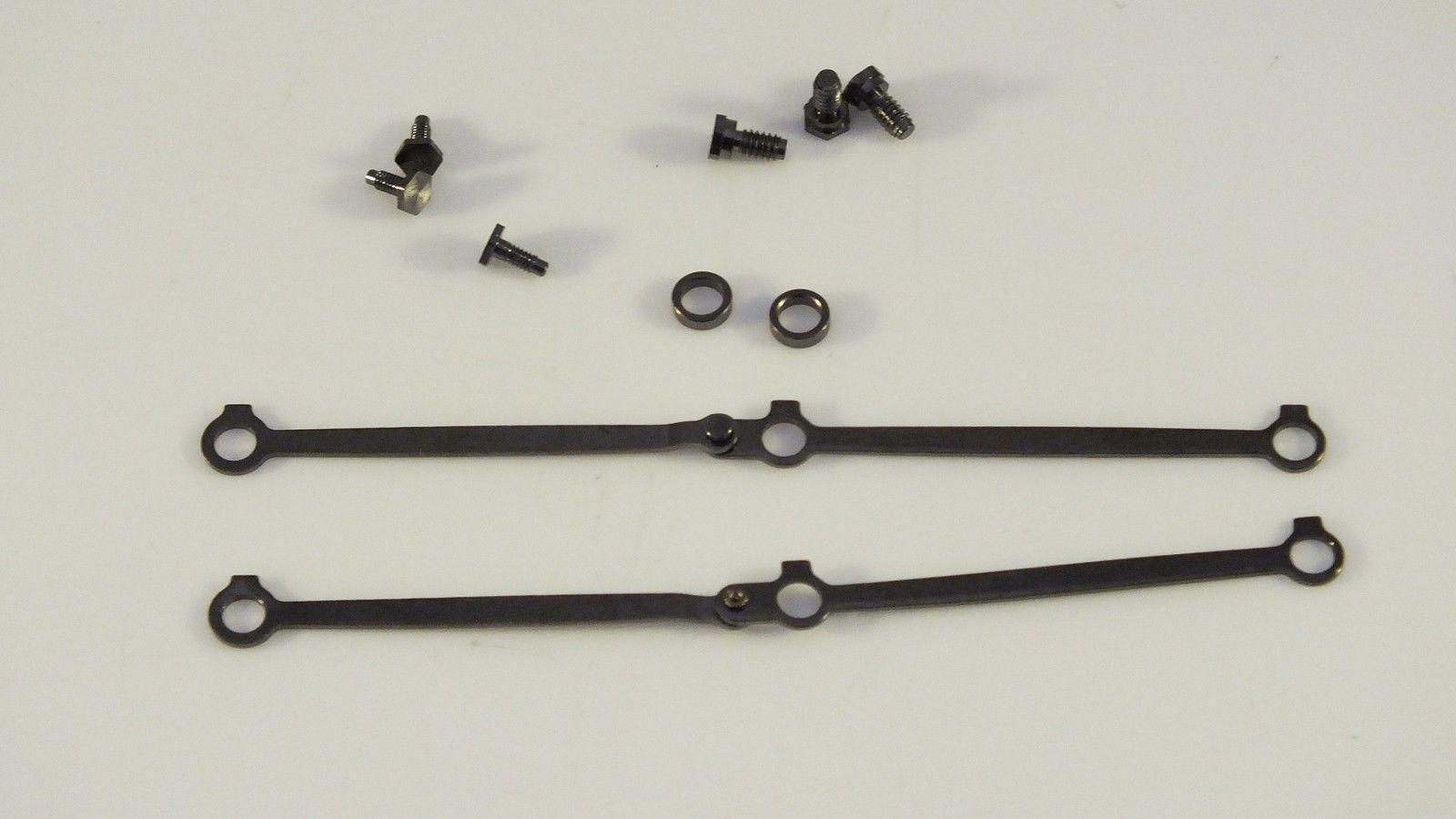 X6155  # HORNBY TRIANG CONNECTING RODS,SCREWS & SPACERS CASTLE CLASS     B12D