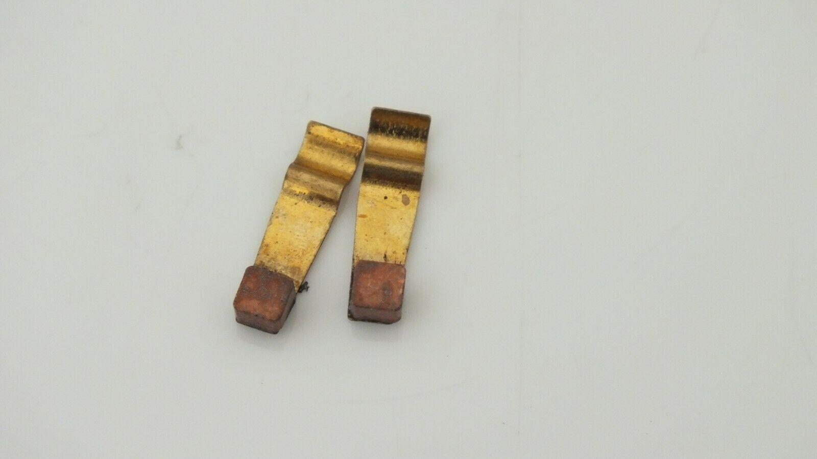 X67 # Hornby Triang spares   Brushes x pair fits X03 X04         U8E