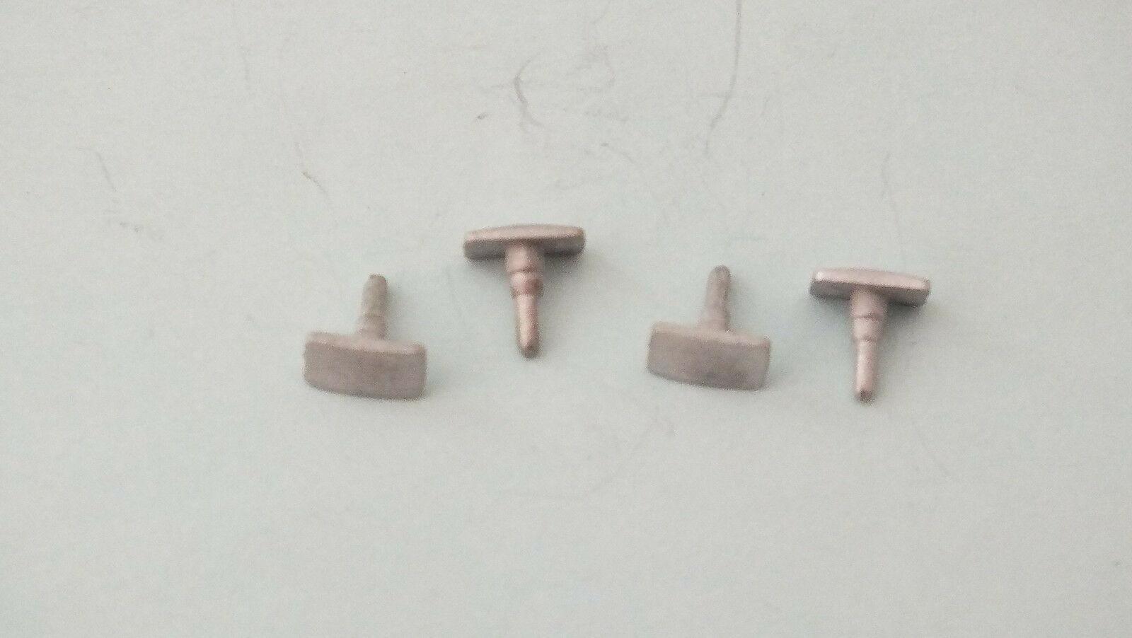 X8106R/ L7640 #  Hornby Triang 4 x oblong  buffers  T11B