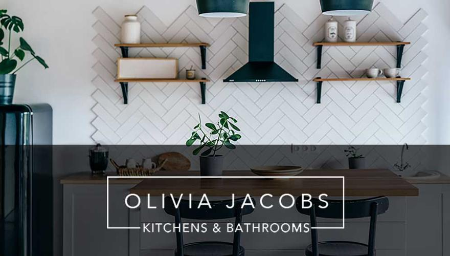 Coming Soon Check back soon to see our latest bathroom and Kitchen projects. And keep up to date with the latest at OLIVIA JACOBS