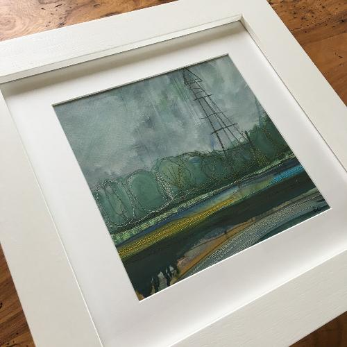 River Scribbles Taking inspiration from the area we live and the River Severn with it's changing moods offers plenty.