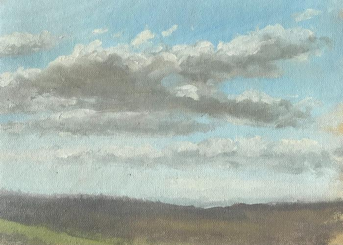 Sky studies A never-ending study of skies painted when the moment arrives by Hayden Price.