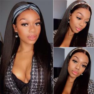 Malaysian  headband wig