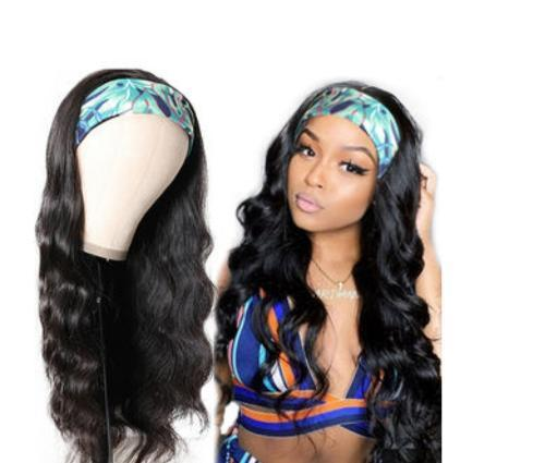 Headband wig Brazilian 150 Density