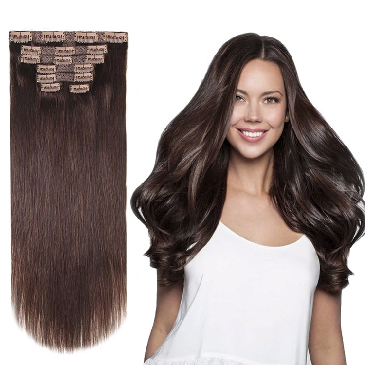 Brazilian 20 inch extensions / 18 clips