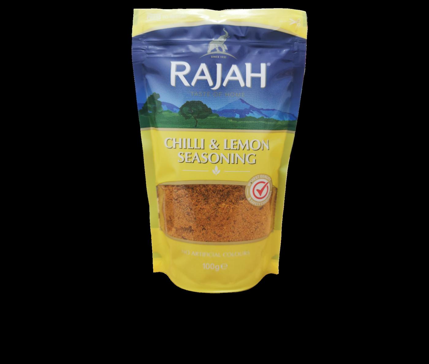 Rajah Chilli & Lemon Seasoning