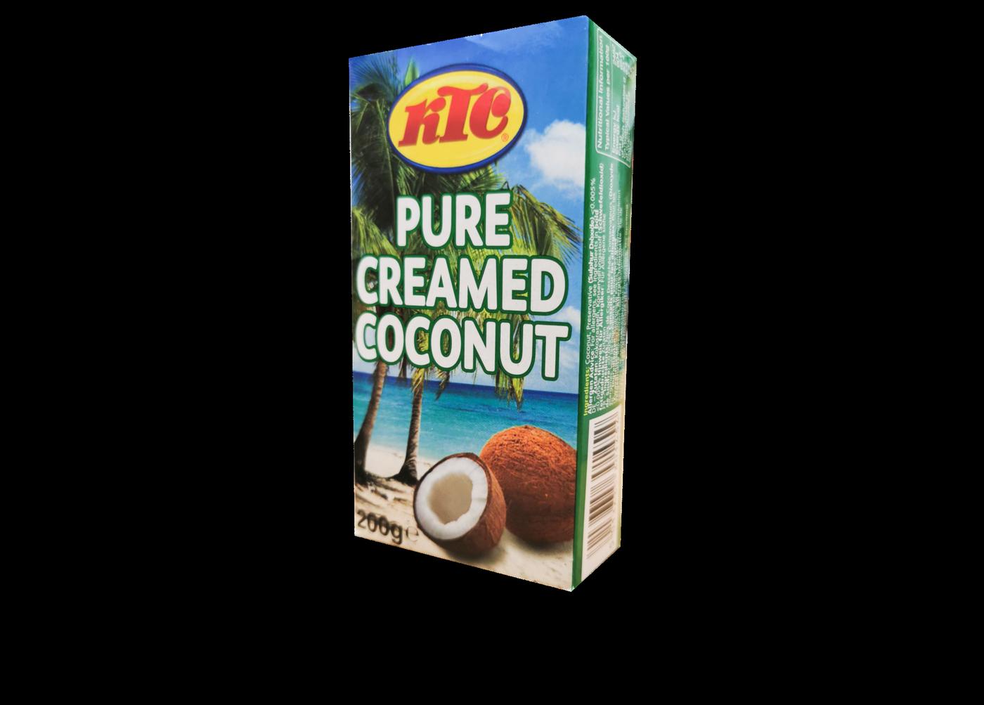 KTC Pure Creamed Coconut