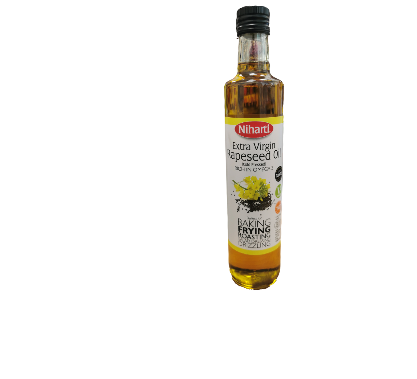 Niharti Extra Virgin Rapeseed Oil  (Cold Pressed)