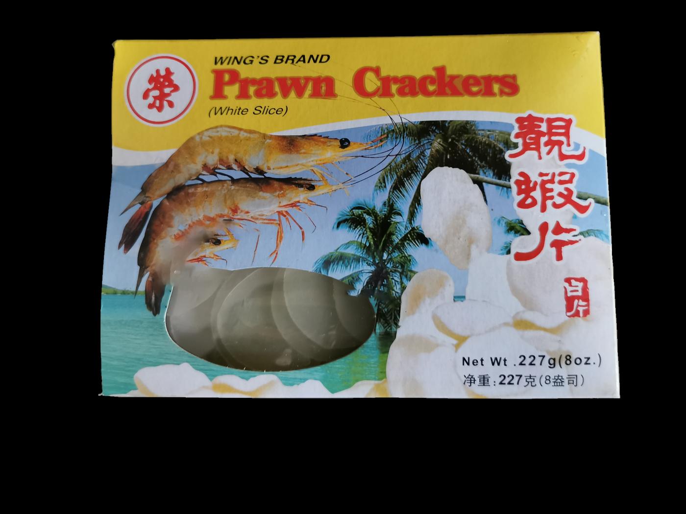 Wing's Brand Prawn Crackers  (White Slice)