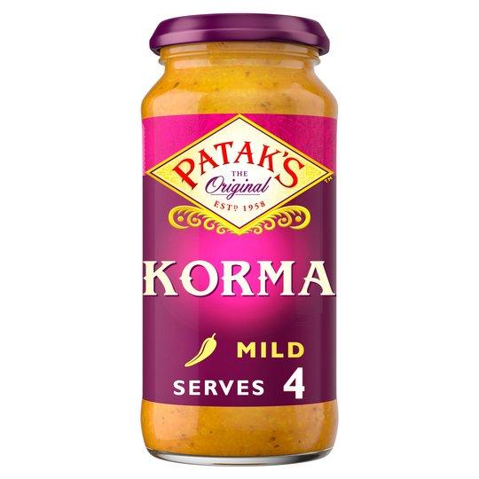 Pataks Korma Sauce (Mild)