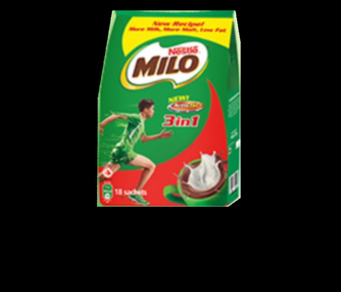 Milo  3 in 1 Sachets