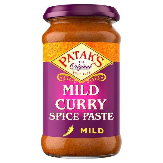 Pataks Mild Curry Spice Paste
