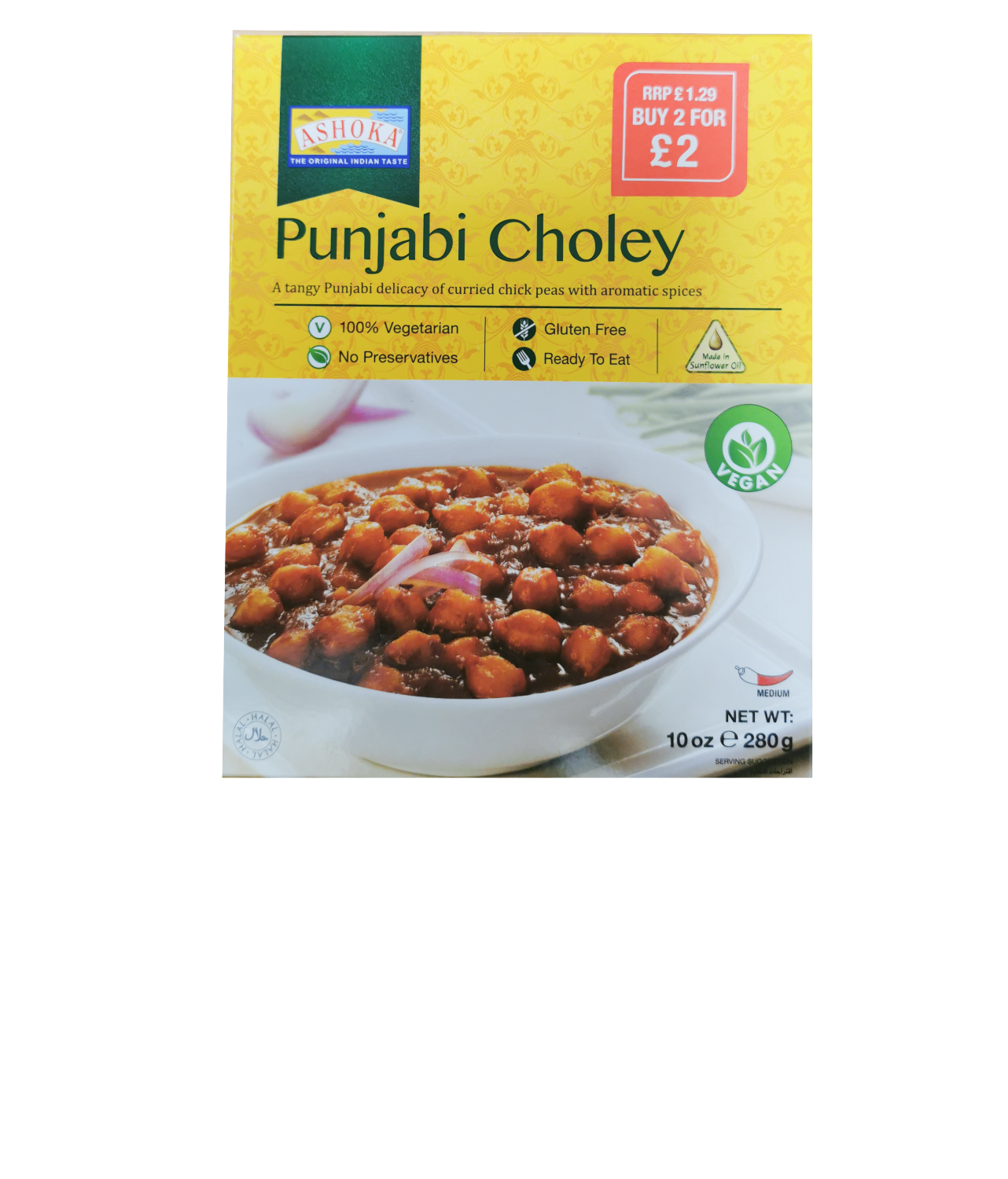 Ashoka Punjabi Choley (Vegan)