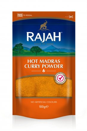 Rajah Hot Madras Curry Powder