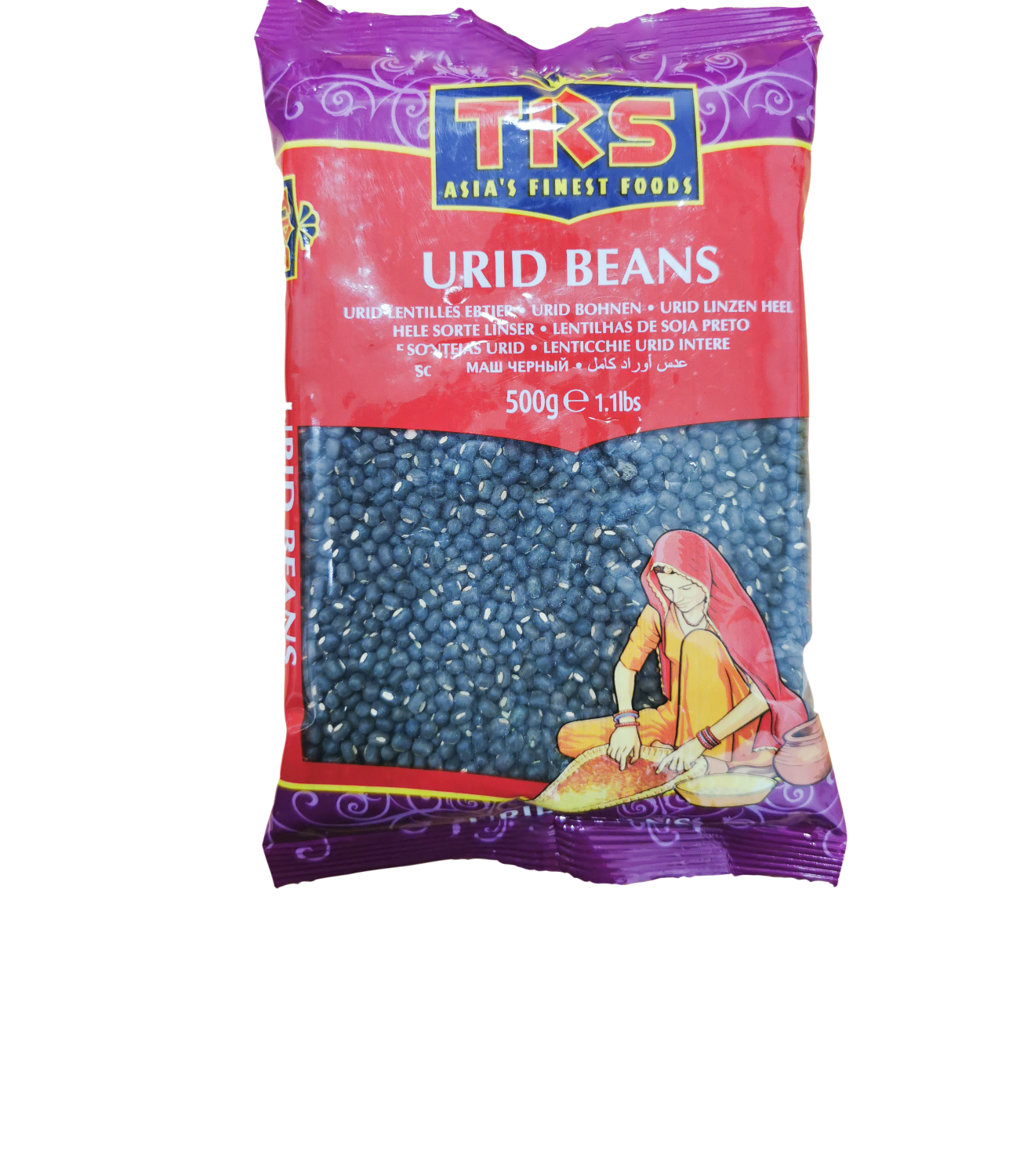 TRS  Urid Beans Whole