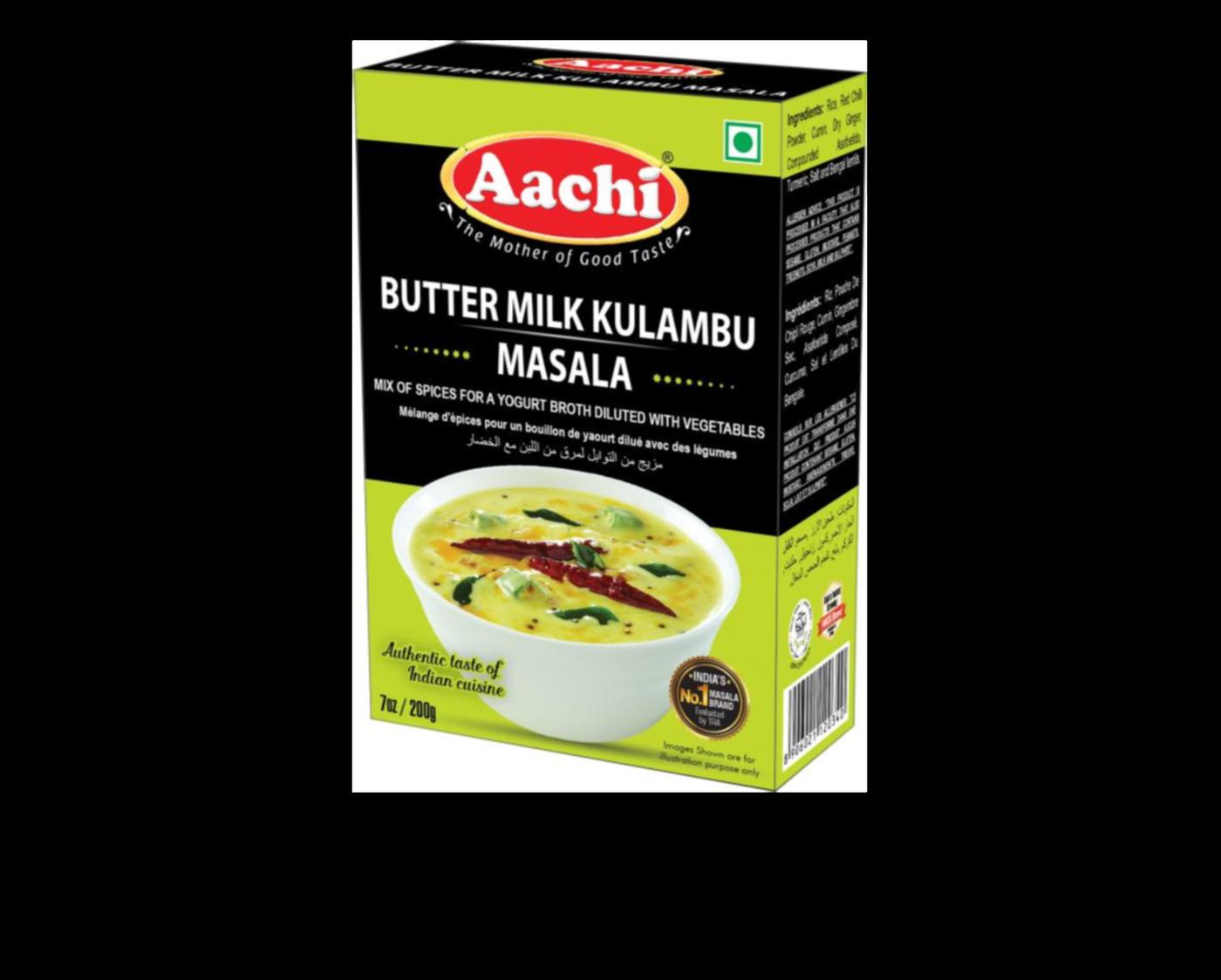 Aachi Butter Milk Kulambu Masala