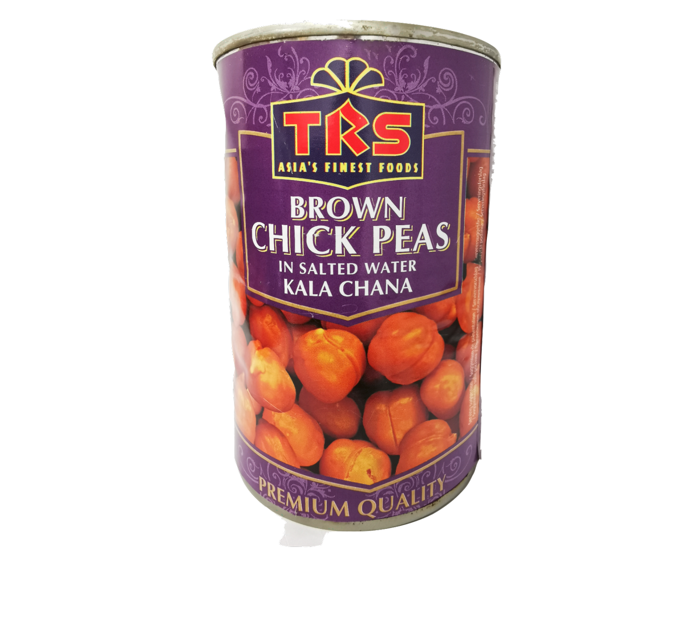 TRS Brown Chick Peas in Salted Water ( Kala Chana)