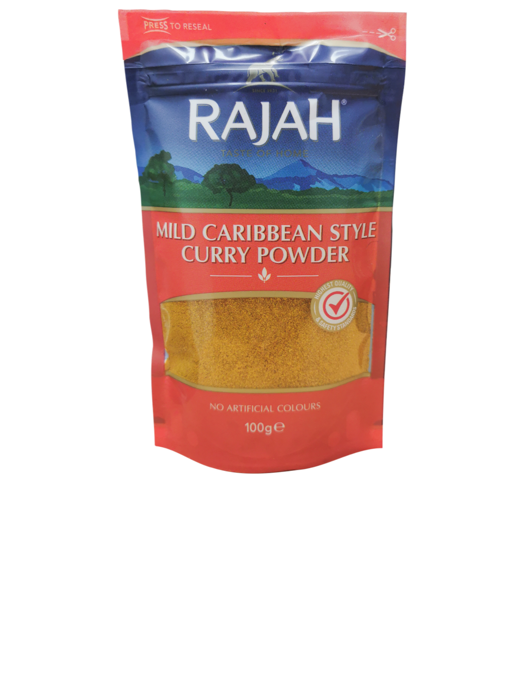 Rajah Mild Caribbean Style Curry Powder