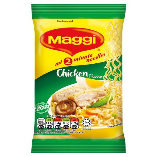 Maggi Chicken Curry Flavour