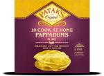 PATAK'S  10 Cook at Home Pappadums
