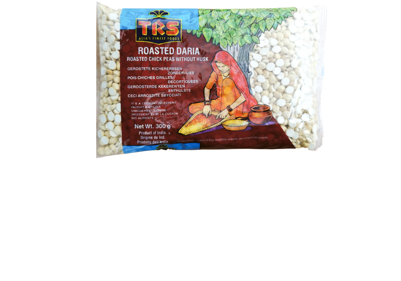 TRS Roasted Daria (Roasted Chick Peas without Husk)