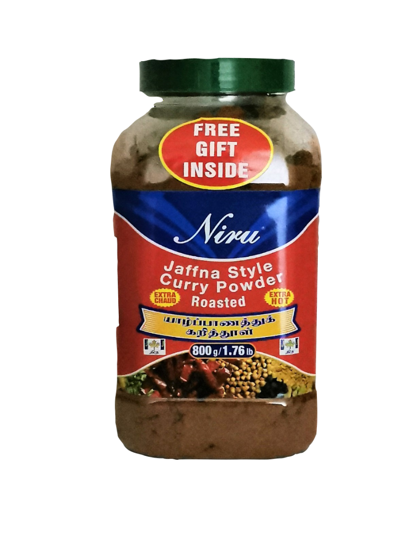 Niru Jaffna Style Roasted Curry Powder (Extra Hot)