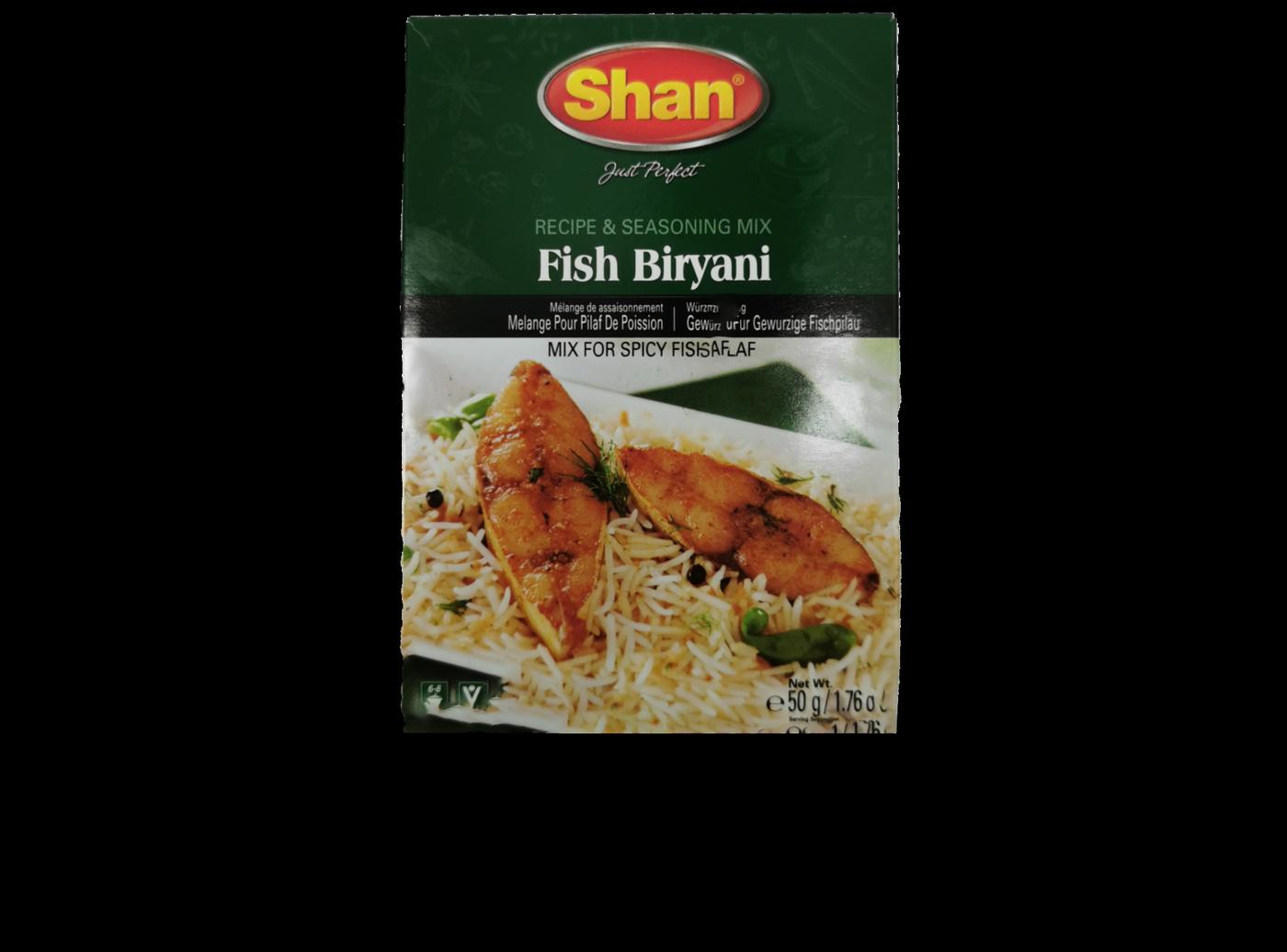 Shan Fish Biryani