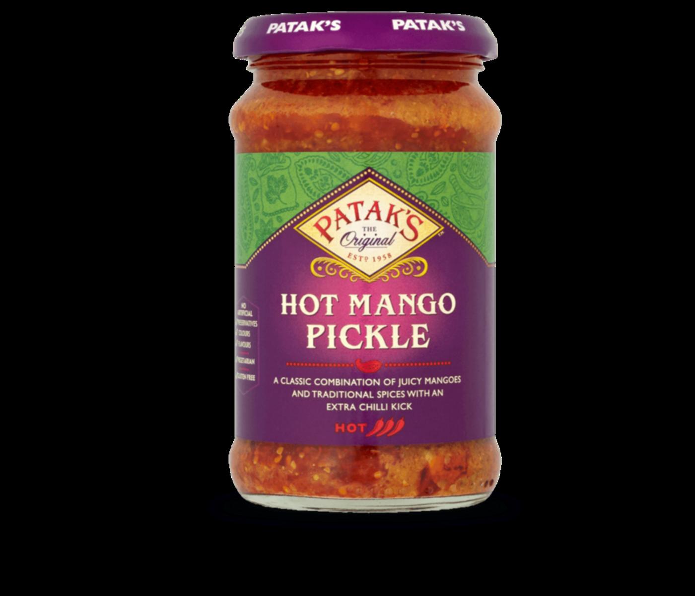 Pataks Hot Mango Pickle