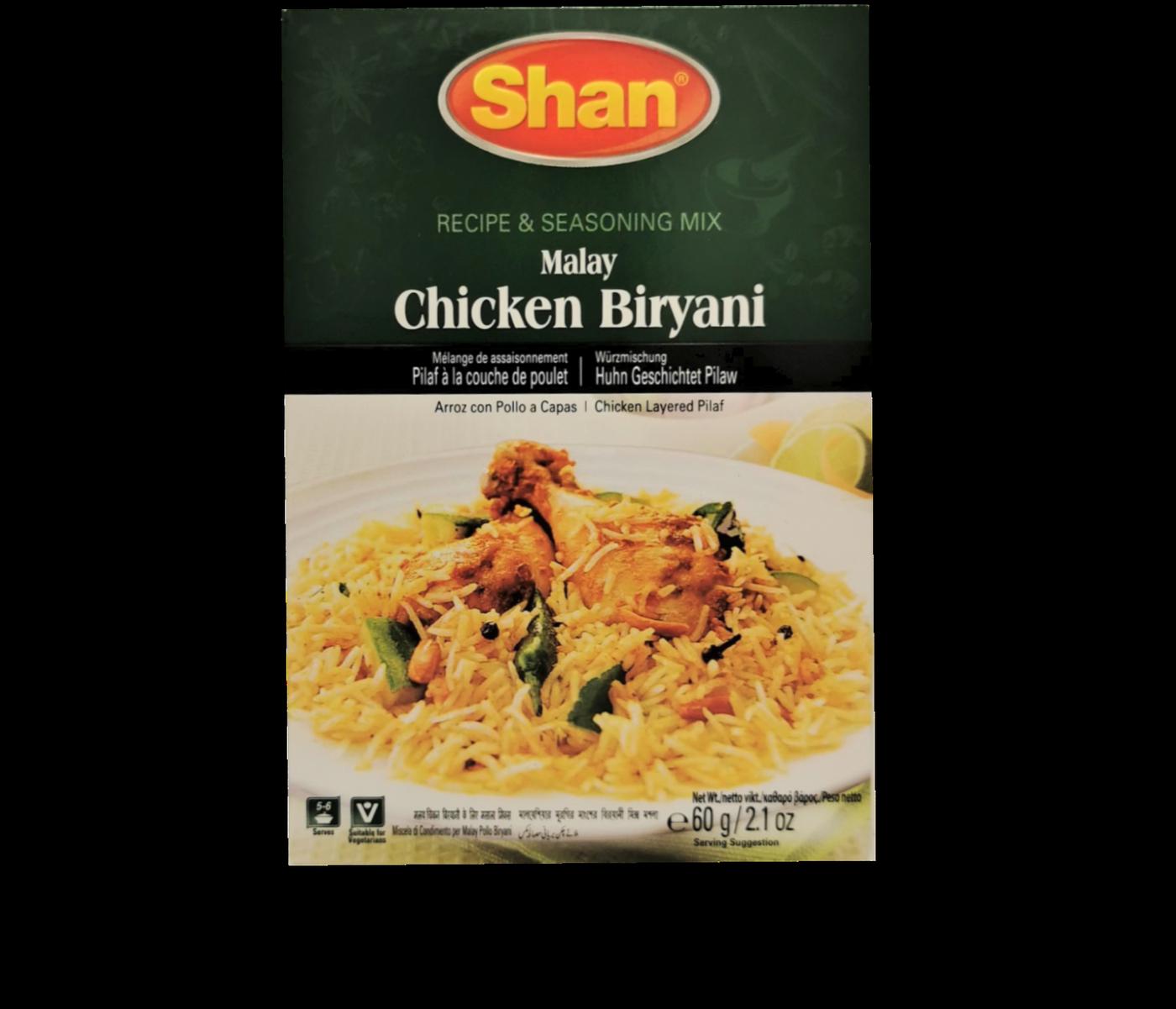 Shan Chicken Biryani (Malay)