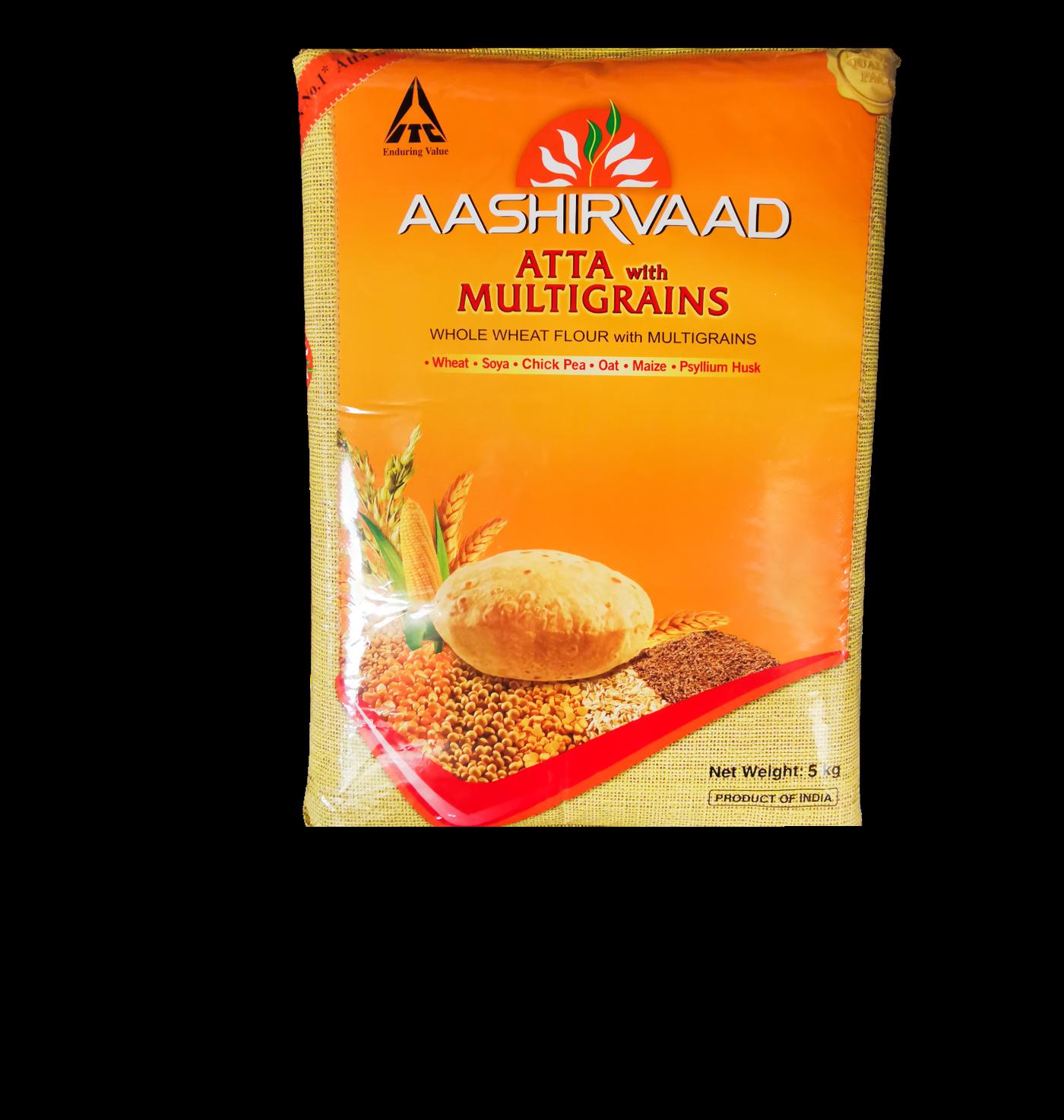 Aashirvaad Atta with Multigrain