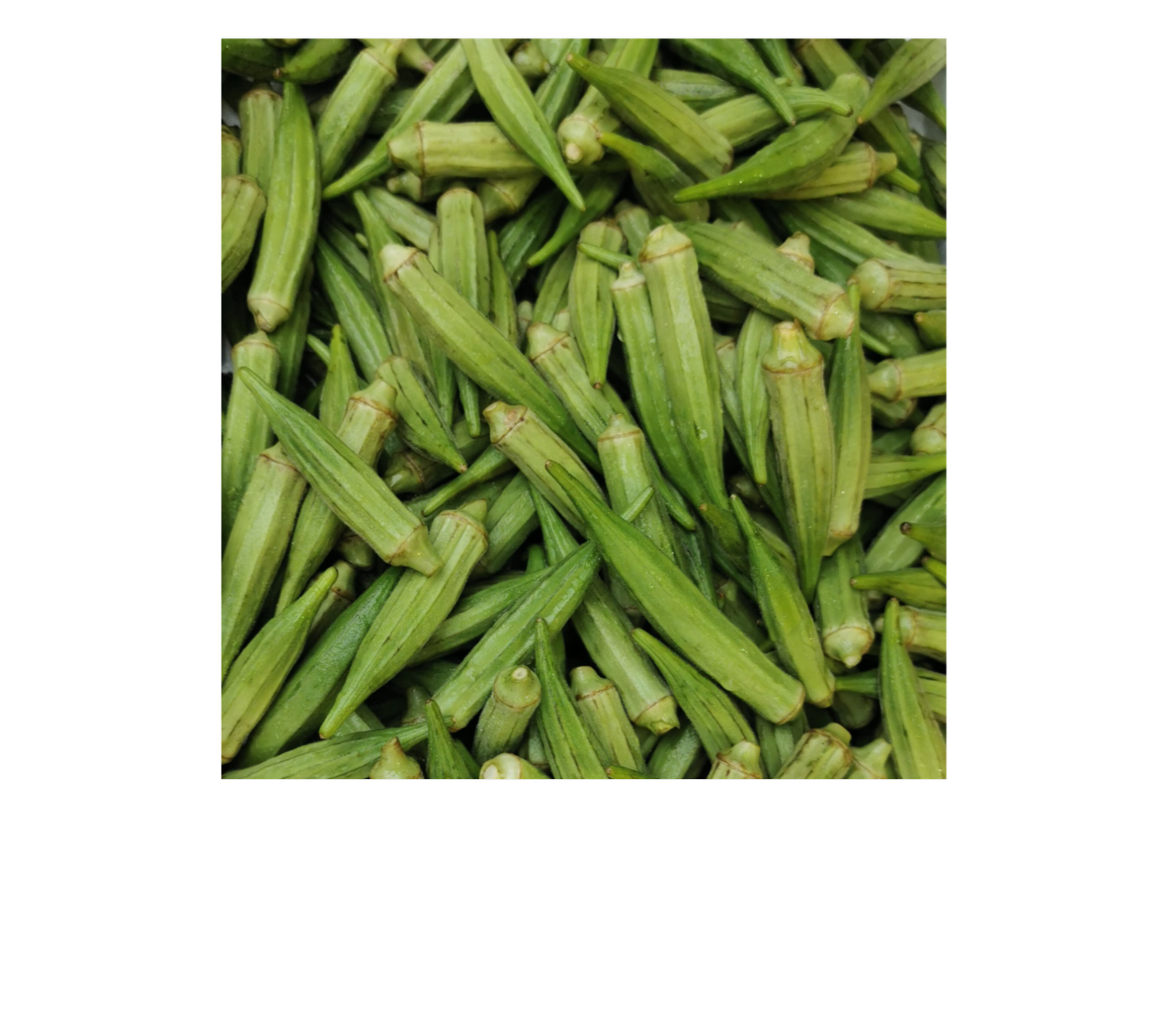 Fresh Ladies Finger(Okra)